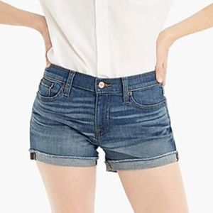 J. Crew Denim Shorts Merril Wash